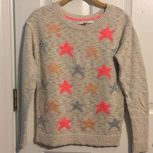 LC Lauren Conrad XS Shining Star Sweater